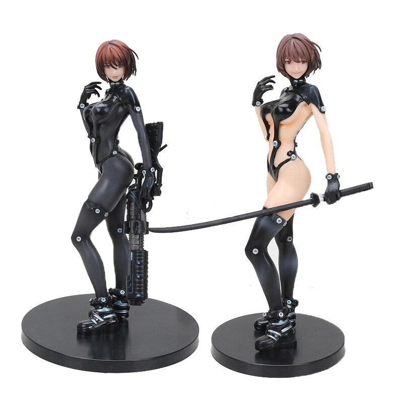 GANTZ O figura de acción Shimohira Reika Anzu Yamasaki espada Samurai Ver 25cm Anime PVC colección de figuras de acción de juguete de felpa