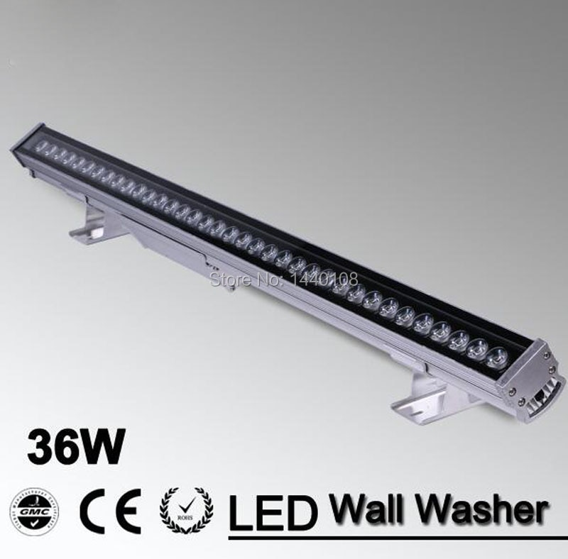 10 pcs lote 36w conduziu a luz da arruela da parede da lampada led ponto de luz de
