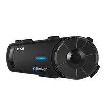 Fodsports-casque dinterphone FX8   1000m, groupe BT, casque découte Bluetooth, casque découte Moto Intercomunicador FM
