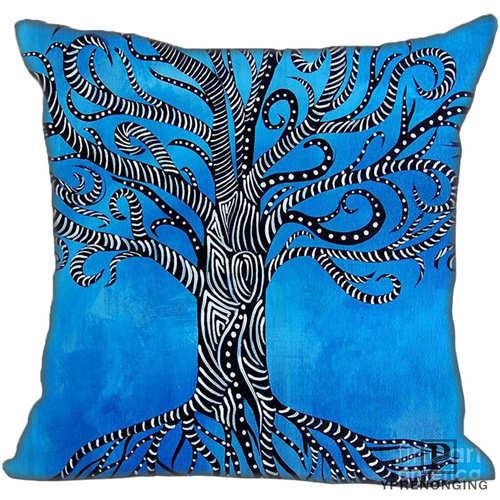 Mejor personalizado alice-dream-tree (1) funda de almohada para dormitorio hogar fundas de cremallera cuadradas (un lado) #190404-1-13