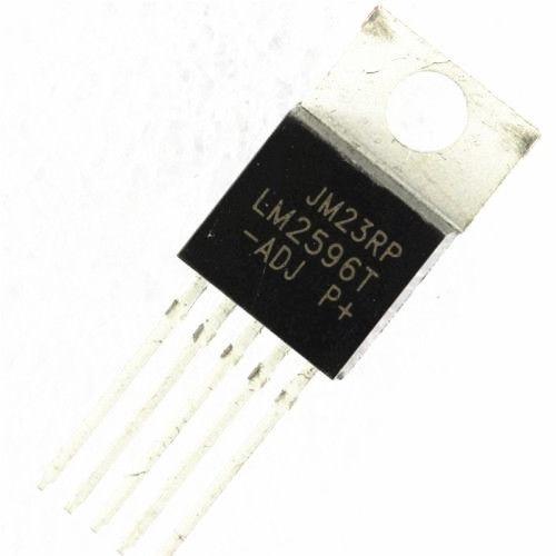 5 uds IC LM2596T-ADJ LM2596 TO-220 regulador de voltaje 3A ajustable nuevo