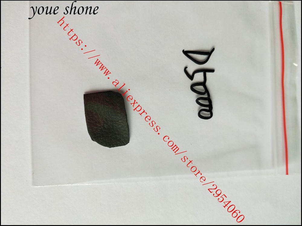 Corpo original de volta capa de borracha escudo peça substituição terno para nikon d5000 reparo da câmera digital