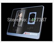 Realand F501 reconocimiento Facial, TCP/IP, reloj biométrico de huella dactilar, grabadora de tiempo de asistencia de empleado, lector en inglés