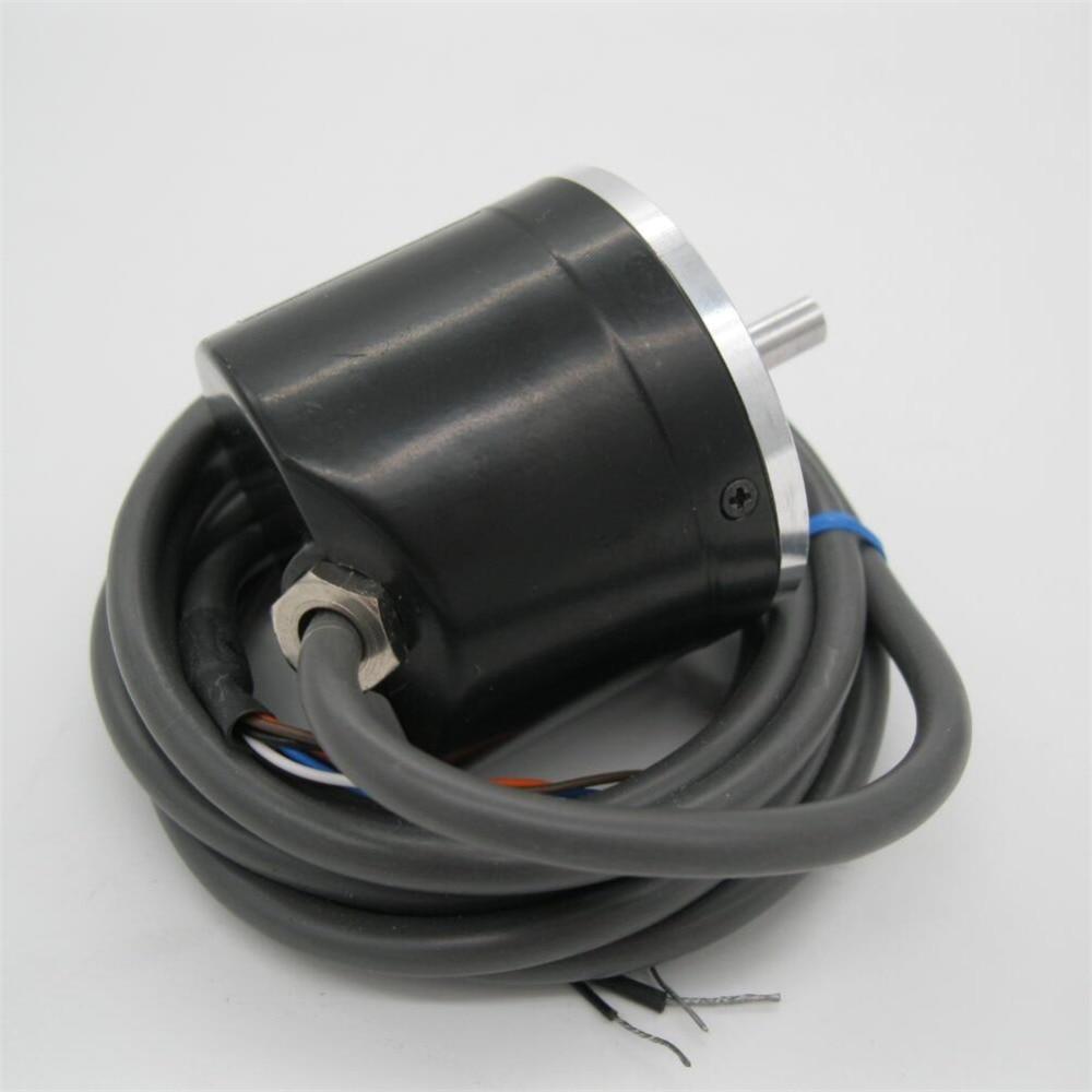 شحن مجاني 1 قطعة E6C2-CWZ5B 360P/R التشفير ل البصرية الروتاري التشفير 360 خط تزايدي التشفير ABZ الناتج DC12-24V
