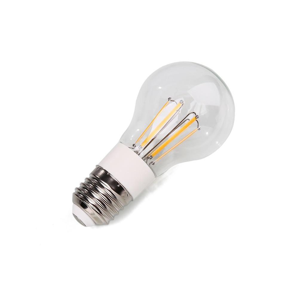 E27 AC/DC12V 6 W света с лампой накаливания прозрачный яркий Яркость прозрачные