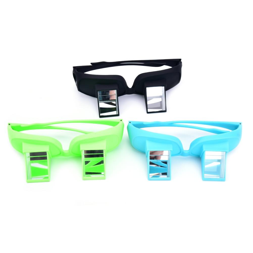 Gafas de visión para lectura Horizontal de TV Lazy Periscopio, tumbona en la cama, gafas de prisma, gafas de diseño creativo