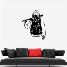 Autocollant mural squelette tête de mort   Autocollant vinyle, Marauder Bandit, Camouflage, décor artistique, décor mural, autocollant mural vivant U452