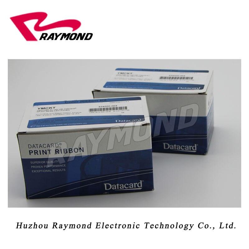 Cinta de impresora de tarjetas dtacard SD260 534000-003 YMCKT