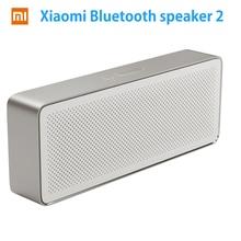 Haut-parleur Bluetooth Xiaomi Mi Original boîte carrée 2 haut-parleur Xiaomi 2 stéréo carré Portable V4.2 haute définition qualité sonore