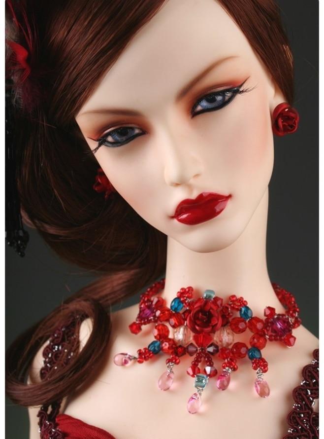 ¡Envío gratis! ¡maquillaje y ojos gratis! Muñeca Bjd 1/3 de alta calidad, 65cm, muñeca bjd femenina sexy de Dia Rose Queen, juguete corporal de super the GEM 11,11