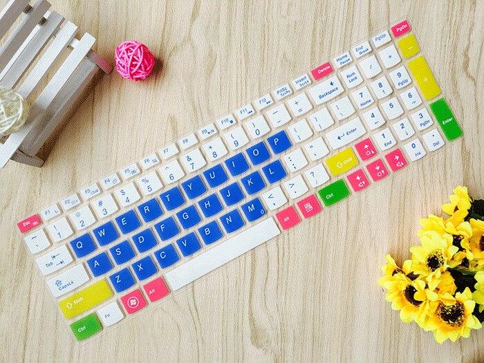 De silicona del teclado Protector de teclado Protector piel cubierta para Lenovo IdeaPad Z580 Z560 Z565 Z570 Z575 Z500 Z501 Z505 Z510 Z585 V580 V570 U510 S500