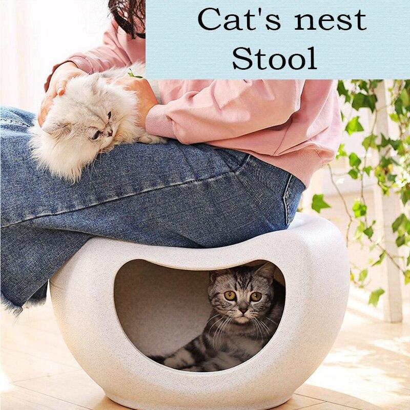 Cama de Gato multifunción para gatos, casa cálida, taburete fresco, silla, muebles robustos y duraderos, camas para gatitos, suministros para mascotas, accesorios