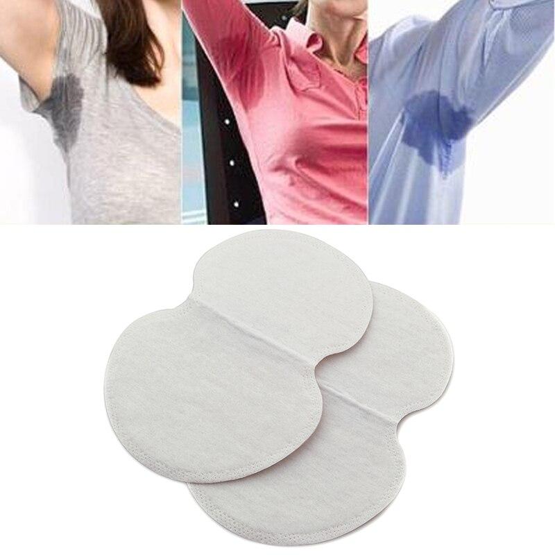50 piezas/25 pares desechables las axilas con absorción de sudor pegatinas axila antitranspirante guardia almohadillas desodorante Invisible Venta caliente del verano