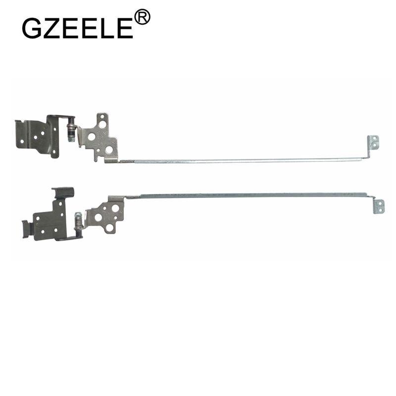 Nuevas bisagras LCD para portátil GZEELE para Dell Inspiron 15 3542 3541 15CR-3543 1528 3000 3546 3543 1518 nuevo izquierda y derecha sin contacto
