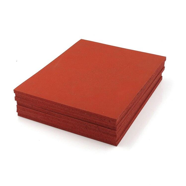 Máquina de laminación de estera de presión almohadilla de silicona Tabla de espuma de esponja súper suave almohadilla resistente a altas temperaturas