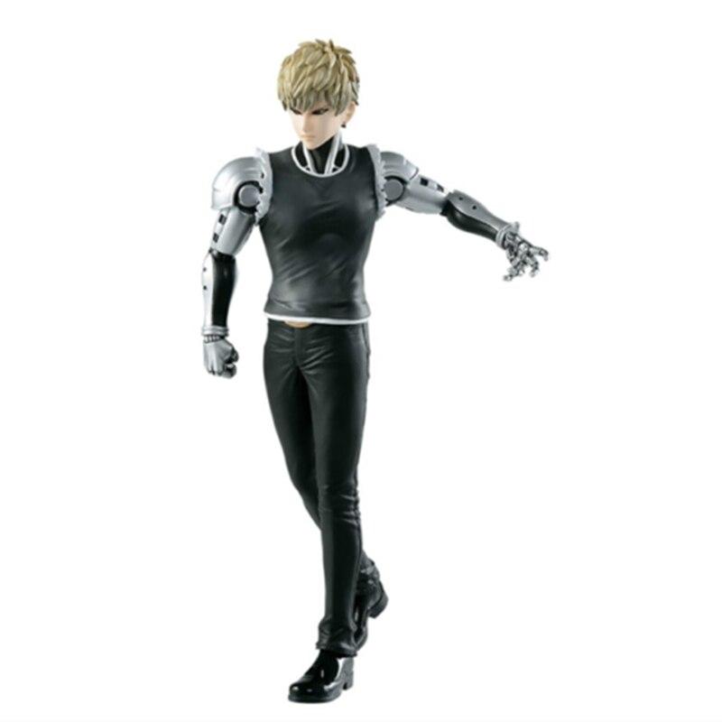 Figuras de acción de One Punch Man, Genos Saitama, muñecos Brinquedos, modelo regalo coleccionable