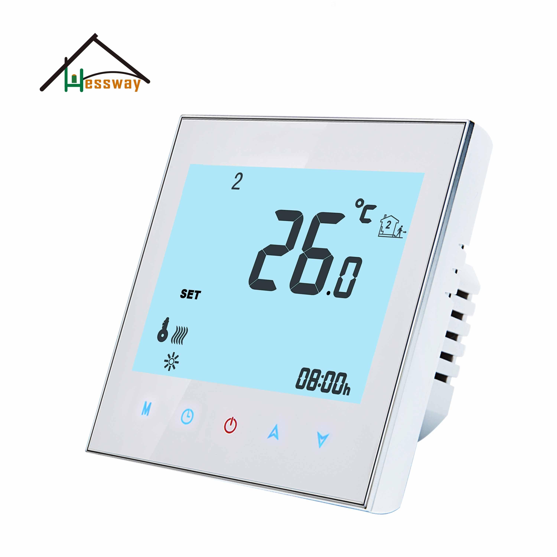 HESSWAY-ترموستات ذكي ، درجة حرارة باردة ، 24 فولت ، 95-240VAC 2P ، خرج نسبة 0-10 فولت