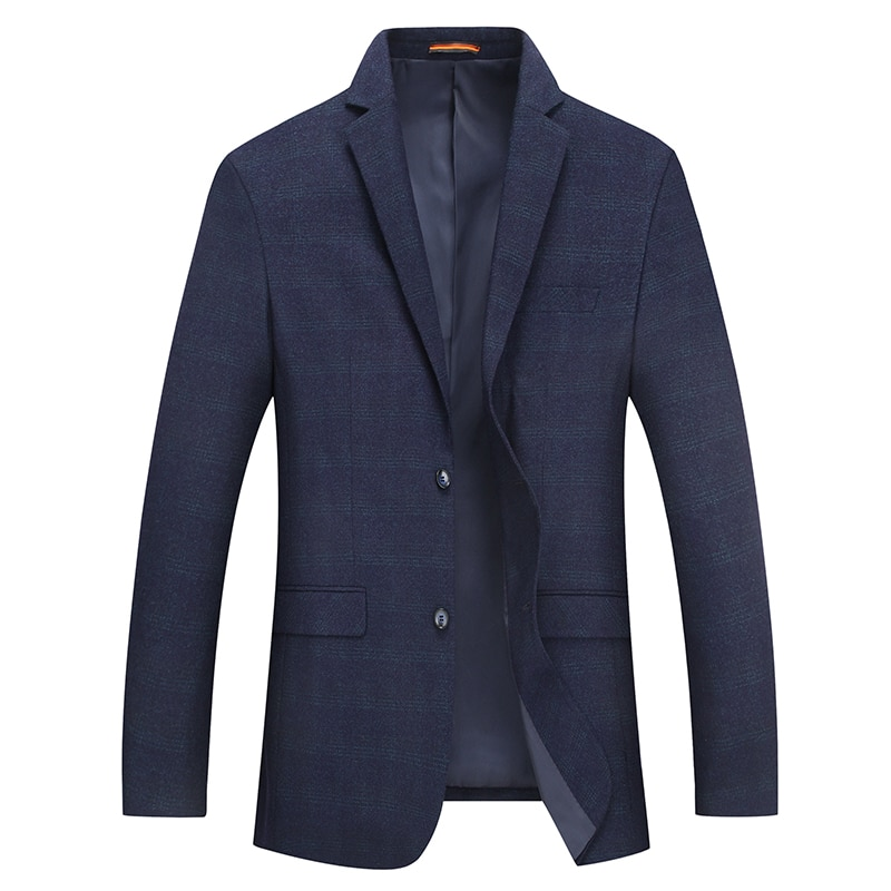 2019 New Arrival Mens Korean Slim Fit Fashion Suit Jacket Male Blazer Coat Wedding Casual Plus Size