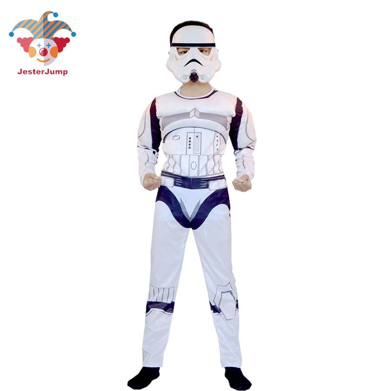 Clone Troopers Força Desperta Kylo Ren Darth Vader Stormtrooper Traje Crianças Trajes Crianças Vestido De Fantasia do Dia Das Bruxas Para Meninos