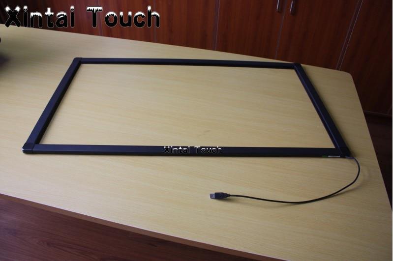 شاشة تعمل باللمس USB IR 98 بوصة ، 20 نقطة ، للكشك ، شاشات الكريستال السائل ، طاولة اللمس ، إلخ.