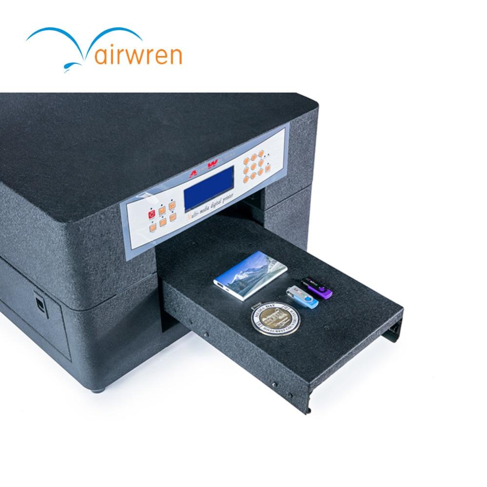 Hohe Qualität A4 größe uv drucker für 3d-effekt foto druckmaschine mit ISO 9000 zertifizierung