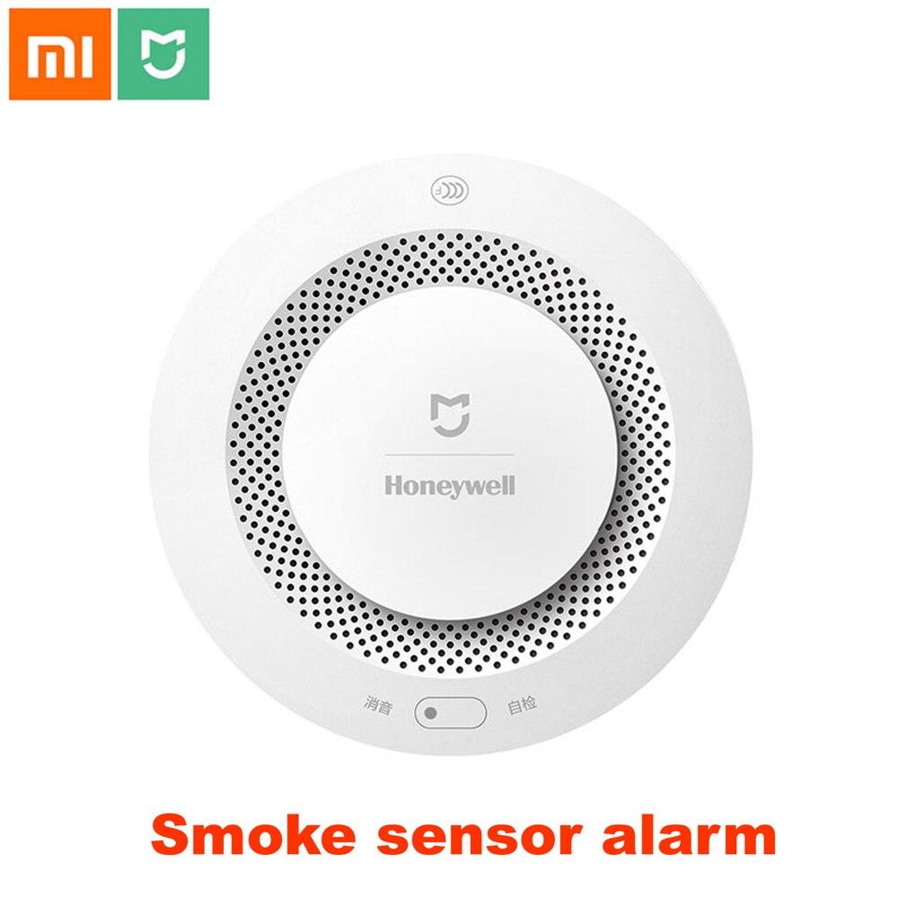 Xiao mi mi jia Honeywell Rauch feuer sensor Alarm Detektor Akustischer optischer Rauch Sensor Fernbedienung mi Hause Smart APP Control