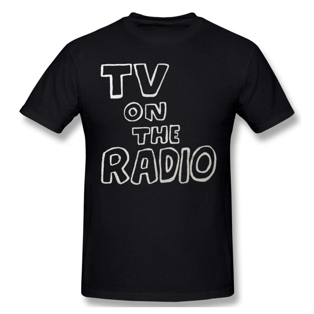 TV On The Radio Men T Shirt Hip Hop Family 4XL 5XL 6XL Cotton Custom Short Sleeve Men T Shirt
