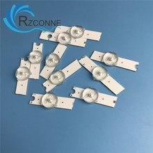 25 uds tiras de aluminio Led 3v bombillas diodos 32-65 pulgadas lente óptica Fliter retroiluminación para Samsung TV 2014SVS58 2013SVS55 2013SVS46