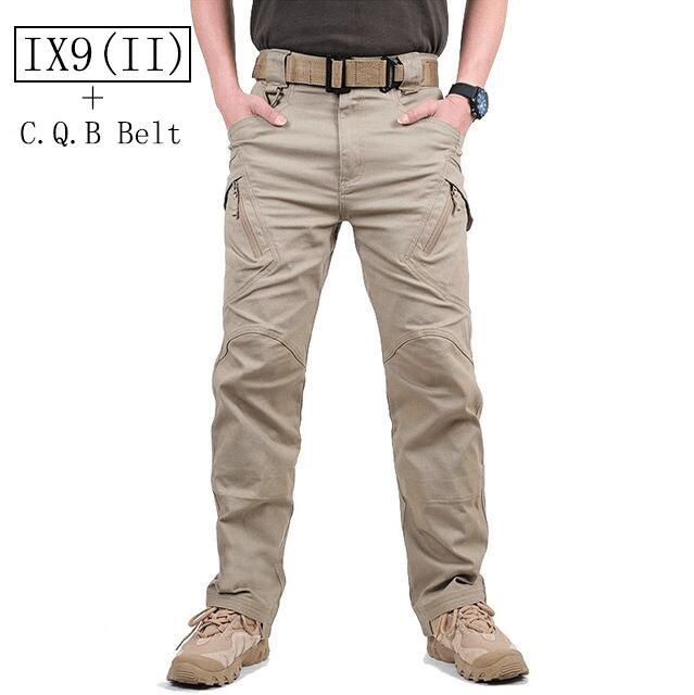 2017 TAD IX9 pantalones de camuflaje tácticos militares hombres combate SWAT ejército Militar pantalones de chándal Hombre Pantalones + cinturón CQB