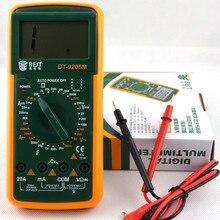 Meilleure DT-9205M multimètre numérique multifonction multimètre numérique Intelligent multimètre numérique multimétro livraison gratuite
