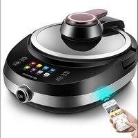 220V Electric Automatic Electric Stir-Frying Wok Pot Non-stick Household Intelligent Multi Cooker Robot Cooking Machine EU/AU/UK