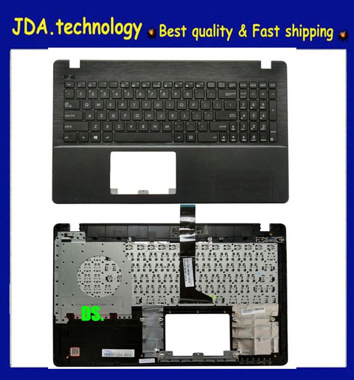 Wellendorff novo/origg palmrest capa superior para asus x550 k550v x550c x552e a550l y581c f550j r510j eua teclado capa superior, preto