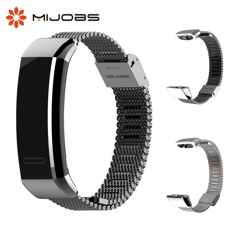 Milanese Metal Wrist Strap for Huawei Band 2 Pro B19 B29 Sports Bracelet Watch Band for Huawei Band 2 Pro Wristband