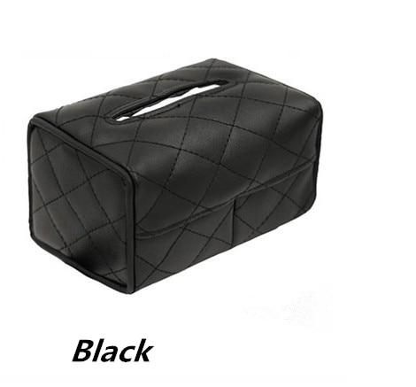 Car styling Car Tissue Box For Cadillac ATS SRX CTS LINCOLN MK REMOTE for Ssangyong kyron rexton korando actyon car styling