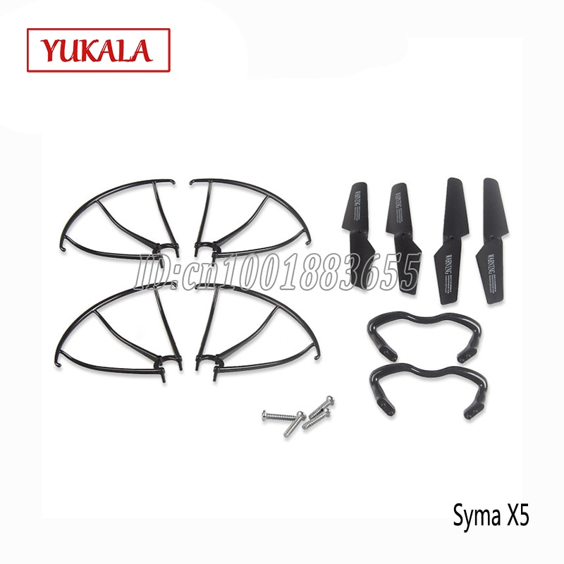 Free shipping X5 X5C X5W X5SC X5SW helicopter landing protective fitting tripod blades Drone RC Quadcopter Repuestos