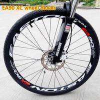 EA90XC wheel set stickers bike 26 / 27.5/29 inch wheels mountain bicycle wheelset rim stickers reflective decals film