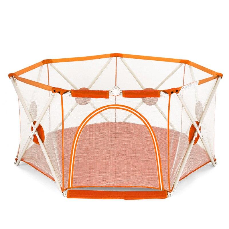 Alta qualidade 8 superfície do jogo do bebê cerca de segurança da criança do bebê esteira rastejando cerca indoor e outdoor play guardrail para crianças