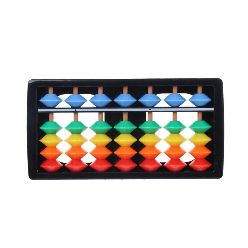 Красочные Abacus арифметические счеты соробан математические вычисления инструменты обучающая игрушка