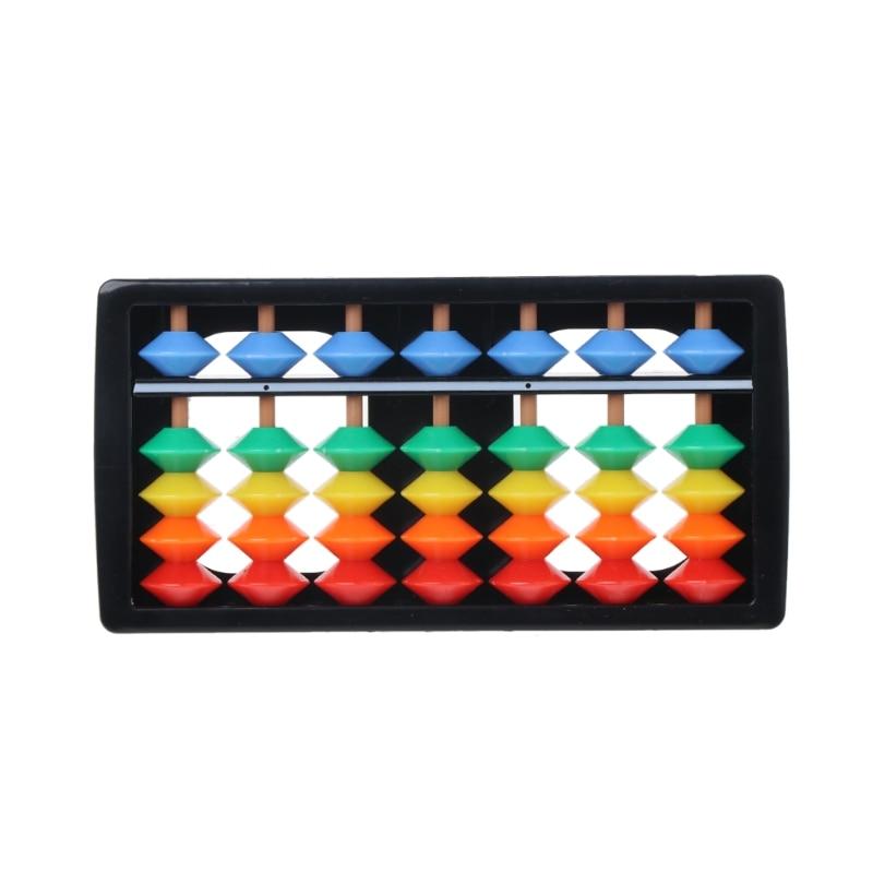 Ábaco colorido aritmética Soroban matemáticas herramientas de cálculo juguete educativo