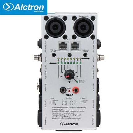 Free shipping Alctron DB-4C TRS XLR RCA 1/4