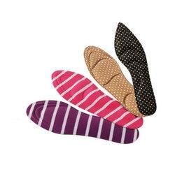 1 par feminino massagem salto alto esponja palmilhas sapato 3d almofadas almofadas diy corte esporte arco apoio orthotic