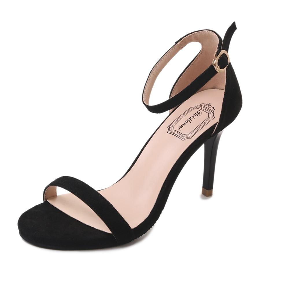 Escocês Xadrez Salto Alto Sandálias Mulheres Cross-Amarrado Senhoras Partido Tira No Tornozelo Arco Altos Sapatos Para Mulher