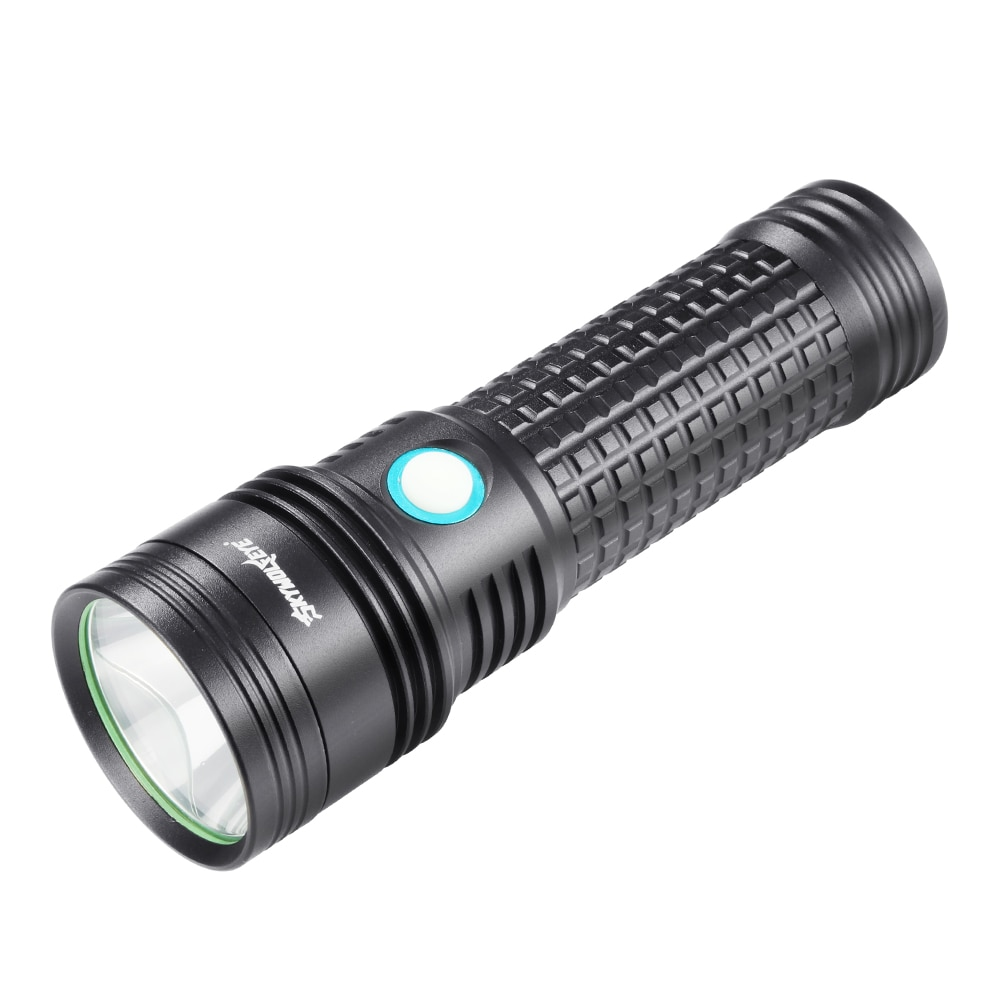 SKYWOLFEYE супер яркий светодиодный фонарик для кемпинга, пешего туризма, тактический, высокая мощность, самовспышка, перезаряжаемый, USB, стробоскоп