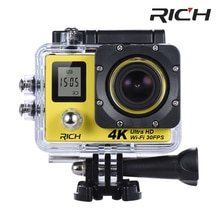DHL RICH V903D 4 K caméra daction 2.0 Double écran LCD 16MP sport WiFi caméra 30 M étanche 170 angle HDMI caméra de sport