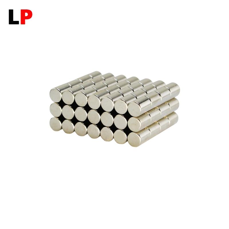 20 штук сильный магнит dia.6x8mm N38 неодимовый редкоземельных постоянный Бесплатная