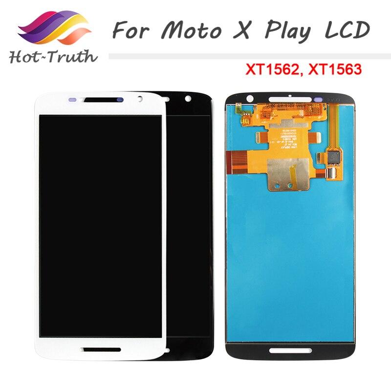 Pantalla LCD para Motorola X Play pantalla montaje pantalla táctil digitalizador marco para Moto X Play XT1561 LCD XT1561 XT1562 XT1563