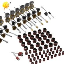 "98pcs Rotary Tool Accessory Bit Set Suit Dremel 1/8"" Shank Grinding Polishing For Rotary Machine"