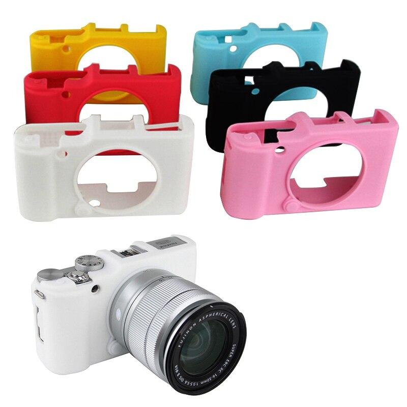 Weiche Silikon Gummi Rüstung Haut Fall Tasche Kamera Protector Körper Abdeckung Für FujiFilm Fuji XA2 XA1 XM1 Kamera Tasche
