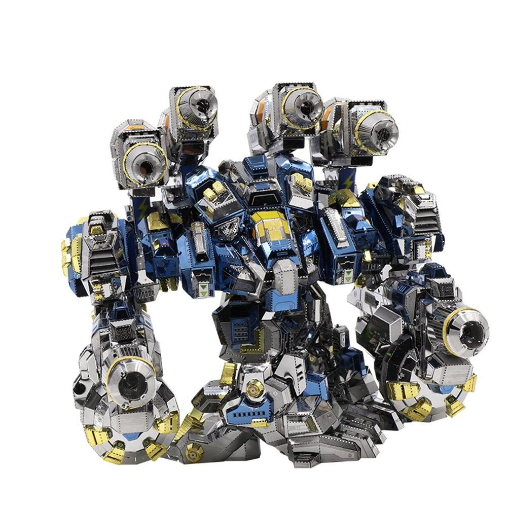 MU Start Craft 2 Thor Odin Armor DIY 3D металлические пазлы, набор моделей, лазерная резка, пазлы, игрушки, YM-N020