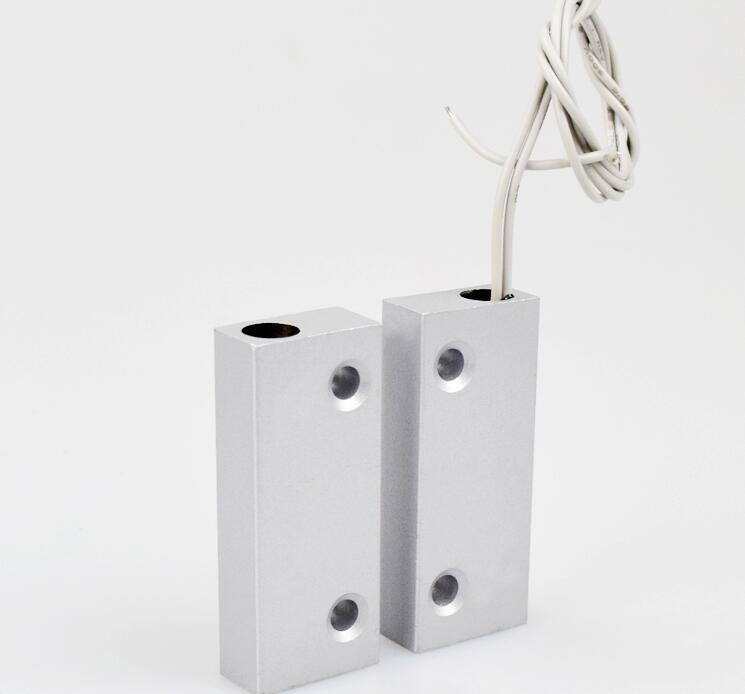 Metal Sensor de Interruptor de contato Magnético Da Porta para a porta do obturador janela da porta de alarme GSM sistema de controle de acesso